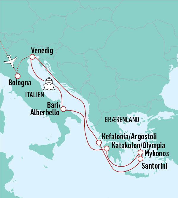 Krydstogt i det græske øhav - Rejs til Grækenland med NILLES